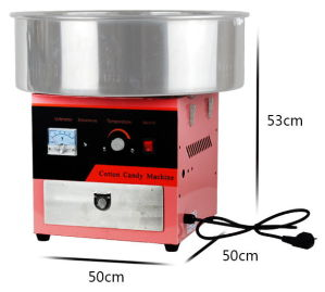 Commercial Use Cotton Candy Floss Machine in Pink Color pictures & photos