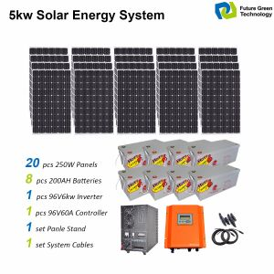 3kw Home Use off Grid Solar PV Panel Energy Power System Kit pictures & photos