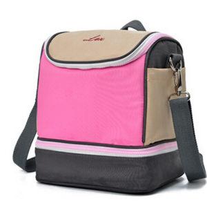 Girls Fashion Picnic Insulated Shoulder Cooler Aluminum Foil Bag pictures & photos