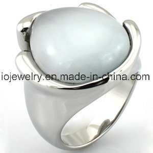Custom 316 Stainless Steel Turquoise Ring pictures & photos