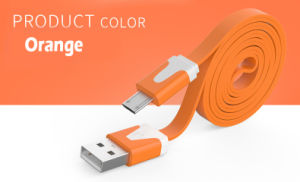 LED Flashing Micro USB Charging Data Cable pictures & photos
