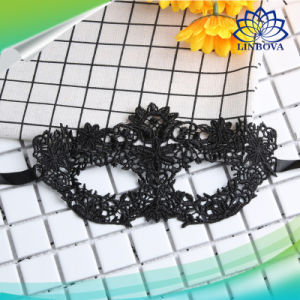 Halloween Girls Women Lady Black Sexy Lady Eye Lace Mask for Party pictures & photos