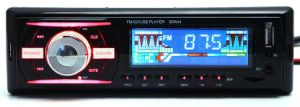 Univeral Single DIN Car Stereo with USB/SD/Aux pictures & photos