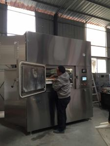 Kwxg Microwave Sterilization Dryer/ Food Vegetable Fruit Cereal Rice Grain Seed Sterilizing Drying Equipment pictures & photos