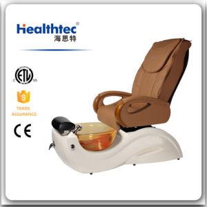 Brown Fiberglass Massage Jacuzzi Bathtub (K101-26) pictures & photos