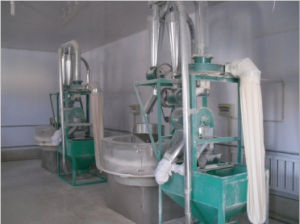 Flour Making Mill/Industrial Wheat Flour Mill/Small Rice Milling Machine pictures & photos