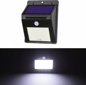 SMD LED Outdoor Solar Powered Waterproof Motion Sensor Wall Light pictures & photos