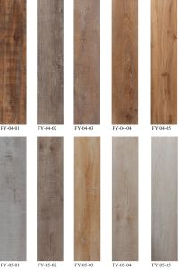 Light Color Nature Feel Wood Pattern Plastic PVC Flooring pictures & photos