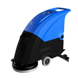 Industrial Hand Push Marble Floor Scrubber Machine pictures & photos