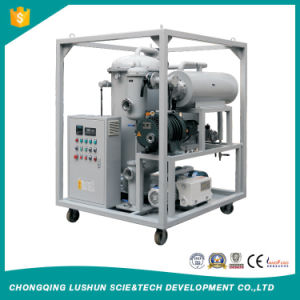 Zja Two-Stage High Efficiency Vacuum Oil Purifier for Transformer Oil/ Transformer Oil Processing Plant pictures & photos