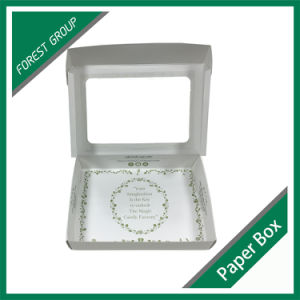 White Food Paper Packaging Box with Clear Window pictures & photos
