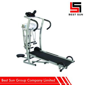 Home Use Magnetic Treadmill, Multifunctional Manual Treadmill Price pictures & photos