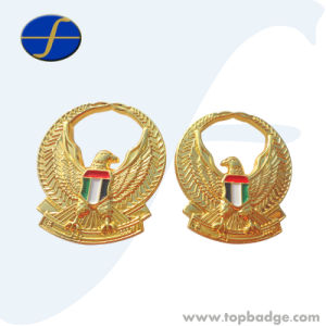 Custom Logo Available OEM Painted Printing Metal Chaplain Badge (FTBG1153A) pictures & photos