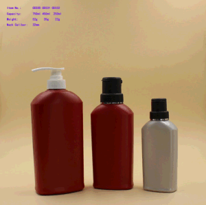 Amy Plastic Bottle for Shampoo Packaging pictures & photos