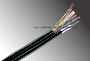 Camera RG6 CCTV Rg59 Cable for Security System with 18AWG/2 Power Wires pictures & photos