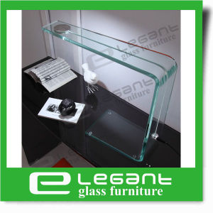 Clear Bent Glass Table Lamp with 3W Light pictures & photos