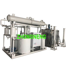 Waste Engine Oil Recycling System, Black Motor Oil Purifier pictures & photos
