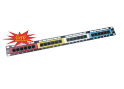 Cat6 Patch Panel (NSP-1050-24C)