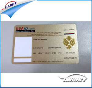 ISO11785 with Chip Em4100 Proximity Thin ID Card pictures & photos