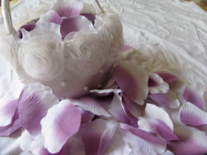 Promotional Wedding Favors for Petal/Factory Price Popular Silk Rose Petal Decoration pictures & photos