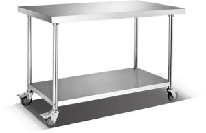 Stainless Steel Working Table (HWT-2-612R) pictures & photos