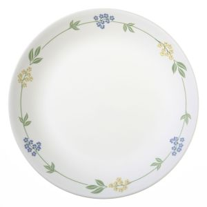 Hot Sale India Melamine Flower Rim Food Dinner Plate pictures & photos