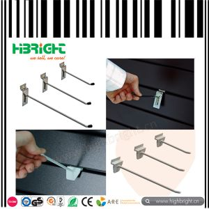 Wire Chrome Retail Slatwall Display Hooks pictures & photos