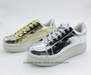 Young Style Leisure Running Sports Shoes for Lady (ET-MTY160333W) pictures & photos