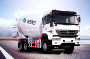Sinotruk Golden Prince Concrete Mixer Truck with 6X4 Driving Type pictures & photos