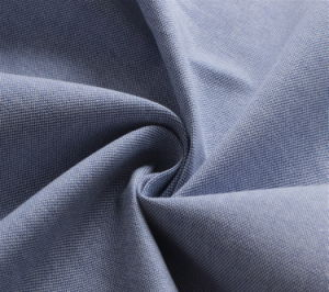 180GSM 100% Cotton Oxford Cotton Shirt Fabric pictures & photos