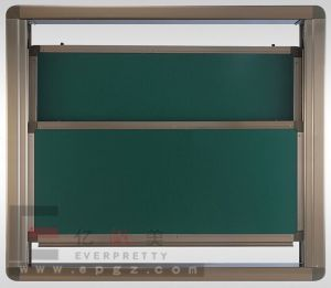 Classroom Furniture 2PCS Sliding Green White Board pictures & photos
