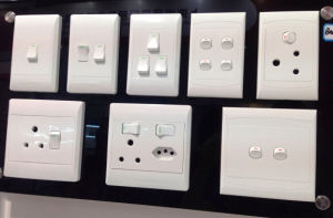 Hot Sale South Africa Wall Switch Socket pictures & photos