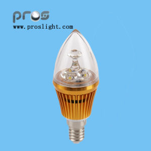 3W LED Bulbs with Candle Light pictures & photos
