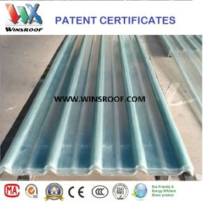 Wins Translucent FRP Roof Tile pictures & photos