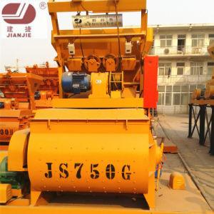 Concrete Mixing Machine Twin Shaft Concrete Mixer Js750 pictures & photos