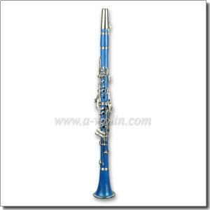 ABS Light Blue 17 Keys Bb Key Colorful Clarinet (CL3071-Blue) pictures & photos