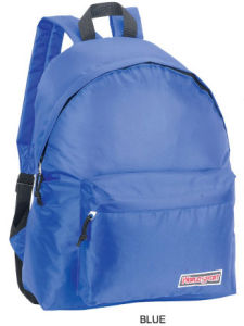 Promotional Simple Cheap Blue Backpack for Students pictures & photos