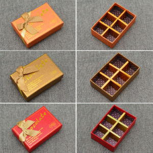 Made in China Factory Custom Paperboard Praline Chocolate Boxes pictures & photos