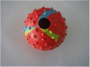 Dog Toy, Barbed Rubber Ball, Pet Toy pictures & photos