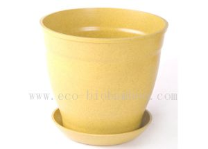 Bamboo Fiber Flower Pot (BC-F1002) pictures & photos