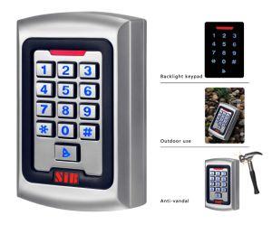Standalone RFID Access Control Gate Keypad with Waterproof Controller pictures & photos