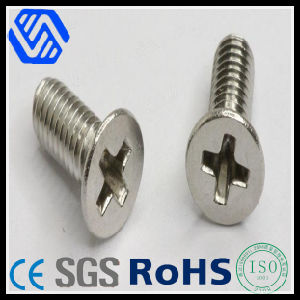 Cross Recessed Countersunk Flat Head Screw (DIN965) pictures & photos