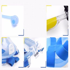 2017 Factory Supply Cool Design Silicone Full Face Snorkel Mask pictures & photos