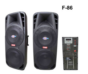 Outdoor Bluetooth Battery Speaker F86 pictures & photos