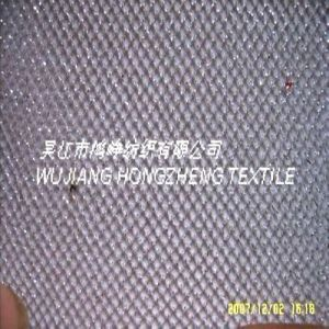 Silver Yarn Mesh Fabric (HZ-M1)