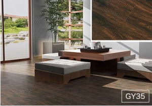 U Mould Hand-Scraped Imitation V-Bevelled Laminated Floor pictures & photos
