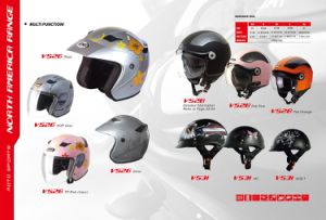 Helmet Half Face, China Top Quality, ECE, DOT pictures & photos