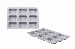 Bakeware Aluminum Anodized 9 Cavity Petite Loaf Pan (MY2851A) pictures & photos