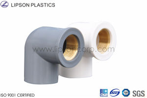 Good Quality UPVC CPVC Pipe Fitting Dn63 pictures & photos