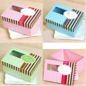 Popular Small Gift Packing Box with Clear Window pictures & photos